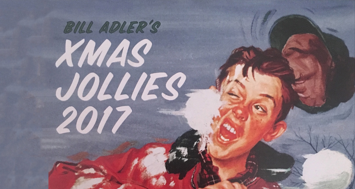 Xmas Jollies 2017 With Bill Adler | The Cipher